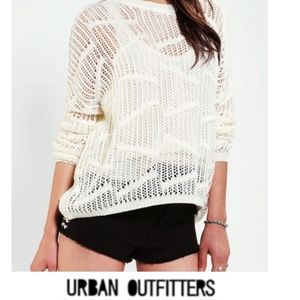 Urban Outfitters Crotchet Sweater